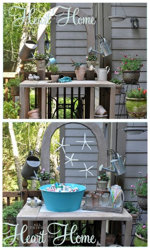This was my kind of project! Quick Repurposing Double Duty!!!! Thanks for having a look my friends xo