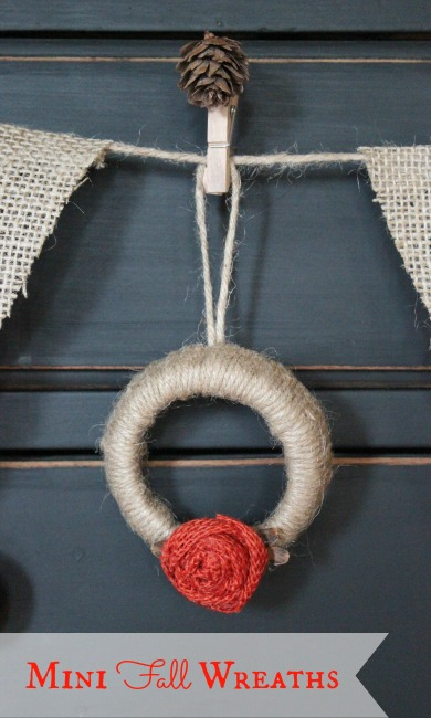One of my favorite wreaths made with jute string!