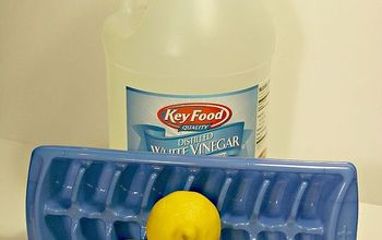 garbage disposal cleaning trick, cleaning tips, plumbing, Lemons vinegar and water are all that is needed