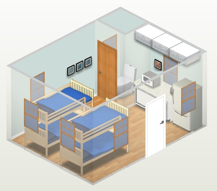 building a bunkhouse chalet should i add 1 or 2 lofts, home improvement