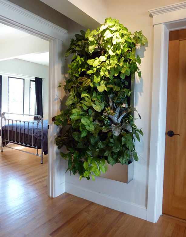 Living Wall For Small E Gardens Container Gardening Home Decor This