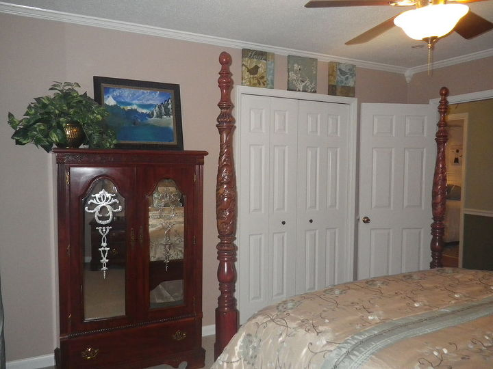 Another view of my son's room.  Son is grown and does not live at home, but we still refer to this room as his.