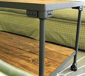 DIY Industrial Inspired Coffee Table Hometalk