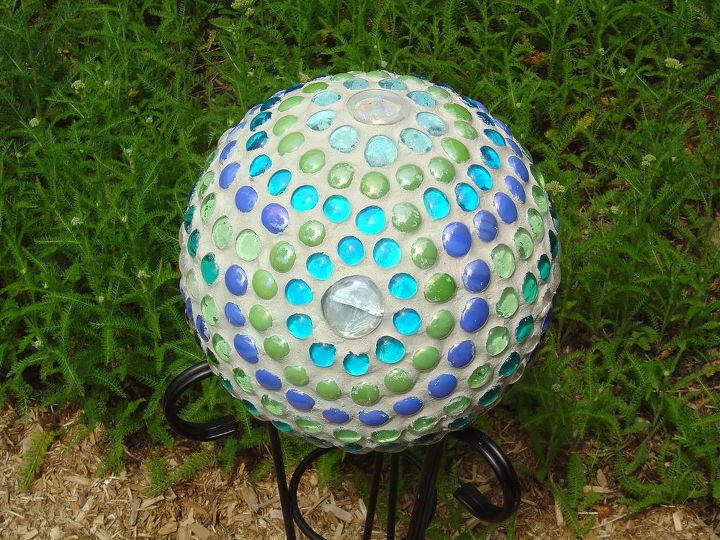 glass gems ball, crafts