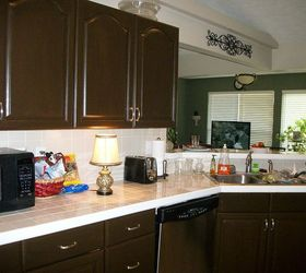 Kitchen Transformation From White To Chocolate Cabinets, Kitchen Cabinets,  Kitchen Design, Painting,