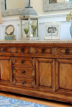 anything blue friday features, home decor, painted furniture, Beautiful Buffet from