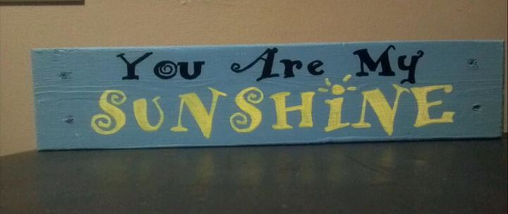 You are my Sunshine - pallet sign