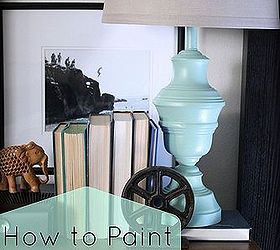 How To Paint Brass Lamps, Lighting, ...