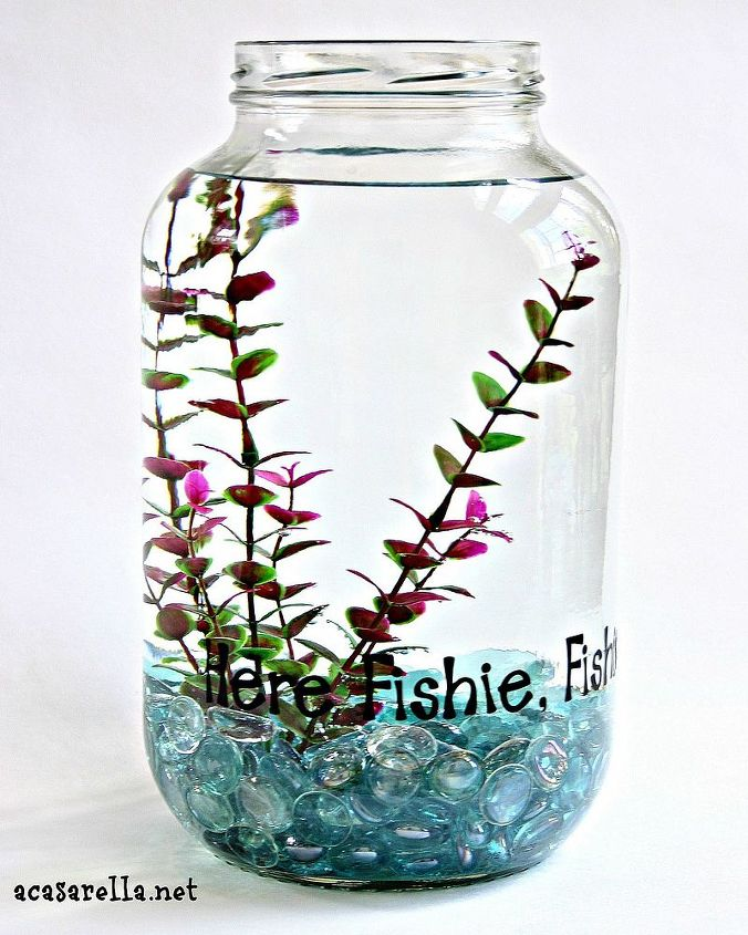 bottle brush snow globes, christmas decorations, crafts, repurposing upcycling, seasonal holiday decor, As you may recall I enjoy working with one gallon pickle jars