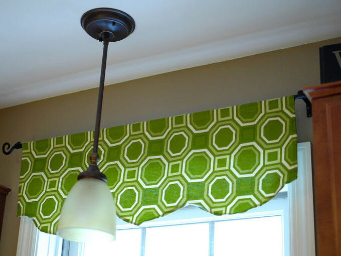 easy 1 hour window valance, diy, home decor, window treatments, windows, One hour and done