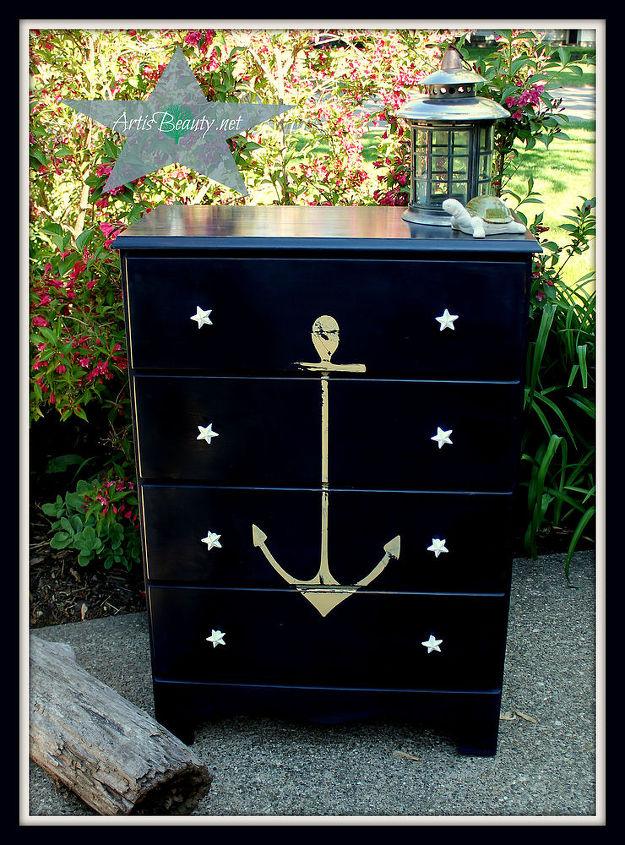 decor dresser ikea goes hackers drawer malm blueikea home blognapoleonic nautical rsz