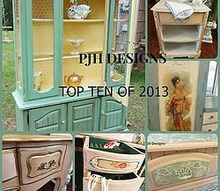 my top 10 blog post of 2013, painted furniture