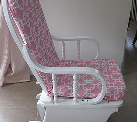 Bon Revamped Rocker Glider Chair For Baby Nursery, Painted Furniture, All Done  And Pretty In