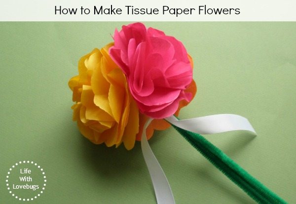 How To Make Tissue Paper Flowers Hometalk