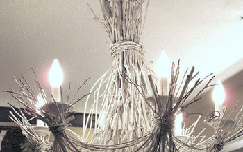 Light up Your Life With a Twig Chandelier!