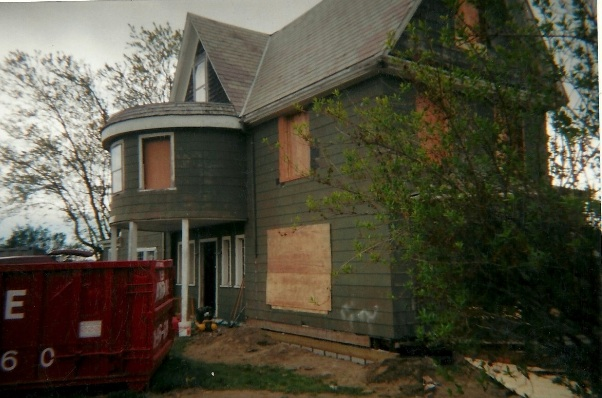 What I bought- we added the plywood and the dumpster when we jacked up the house to replace the rotten sills.