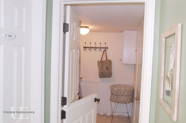 laundry room transformation, home decor, laundry rooms