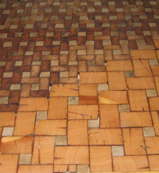 q end grain cobble block wood tile flooring flooring tile flooring woodworking projects - Wood Grain Flooring