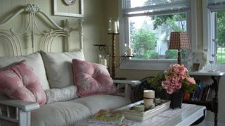 q old bed frame, bedroom ideas, painted furniture, repurposing upcycling