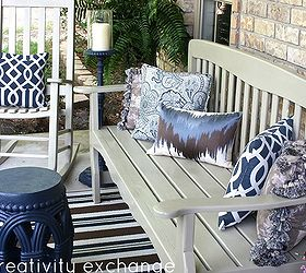 Good Front Porch Revamp How To Spray Paint Outdoor Furniture, Curb Appeal, Outdoor  Furniture, Part 4