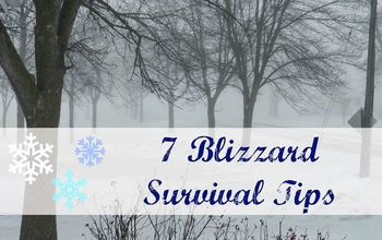 how to survive a blizzard, home maintenance repairs, how to, hvac, outdoor living