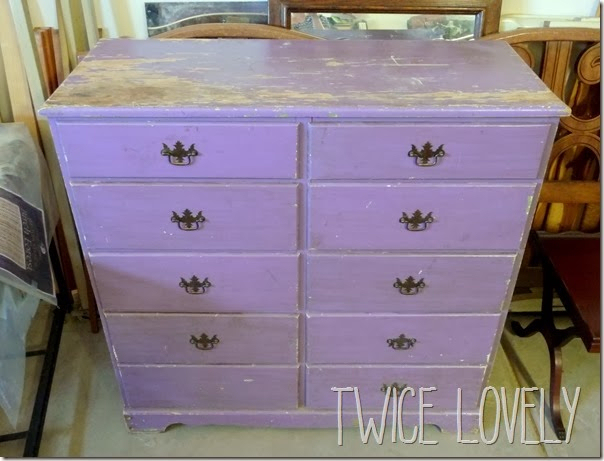 faux card catalog at twice lovely, painted furniture, This is what Ann Marie started with