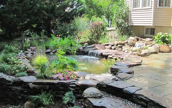 Ponds, Waterfalls, and Patios