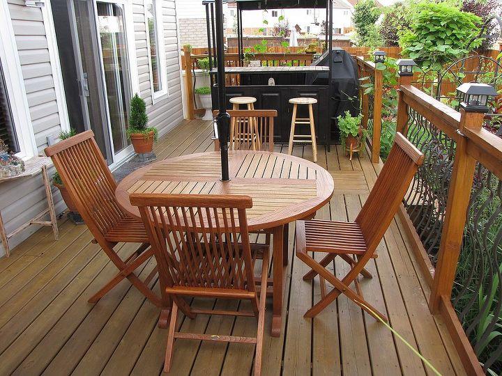 outdoor space, decks, outdoor living