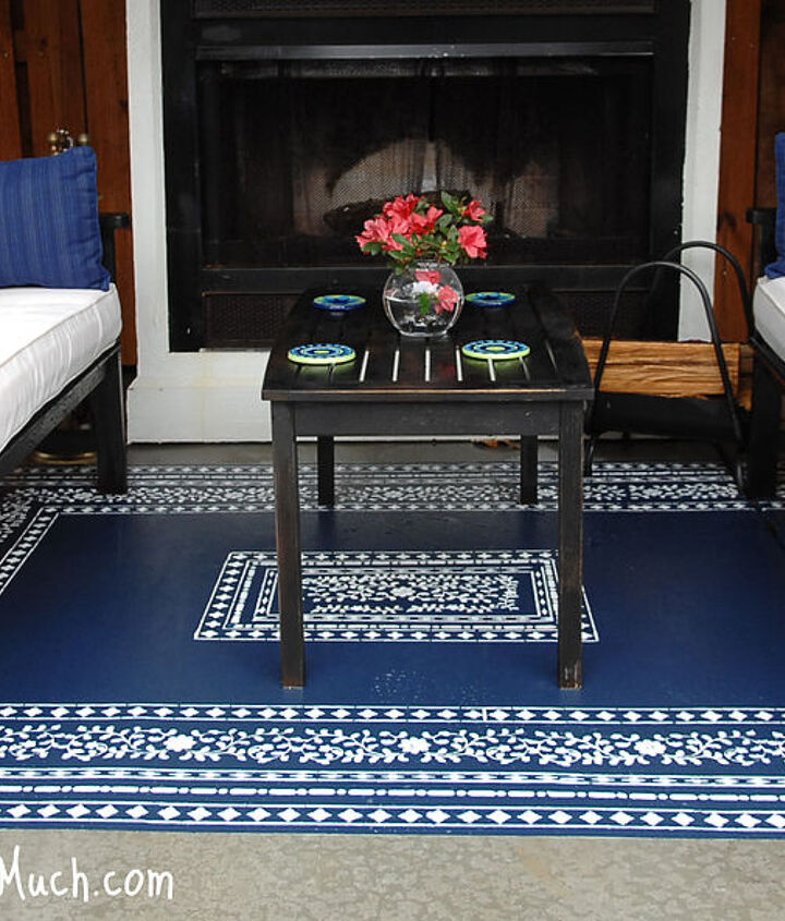 "Now I can just spray off my ""outdoor"" rug! LOVE!"