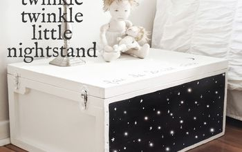 Twinkle Twinkle Little Nightstand Makeover