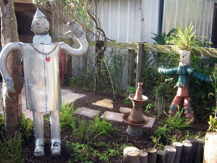 fort getaway, gardening, repurposing upcycling