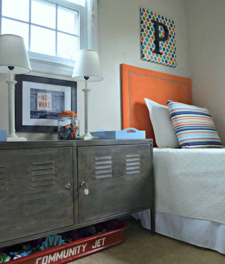 faux aged steel ikea cabinet inspired by restoration hardware, painted furniture