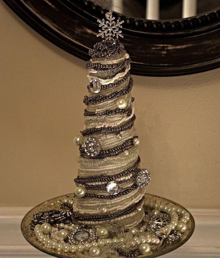 Vintage Glam Cone Christmas Tree