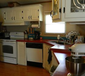 Q Painting Particle Board Cabinets In Mobile Home, Kitchen Cabinets,  Painting