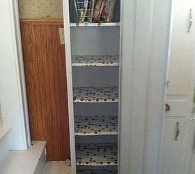 Attirant Finest Old Metal Cabinet Turned Into Pantry | Hometalk JY77