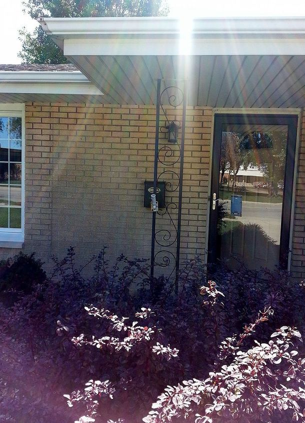 q wrought iron update, curb appeal, diy, home maintenance repairs, painting