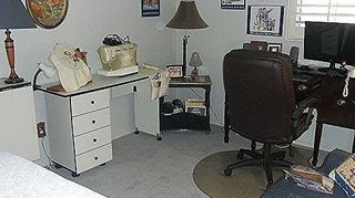q anyone cross stitch out there need help with finished project, crafts, reupholster, My craft computer room