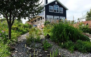 Stream in Your Garden / Cascading Waterfall - Building Garden Stream