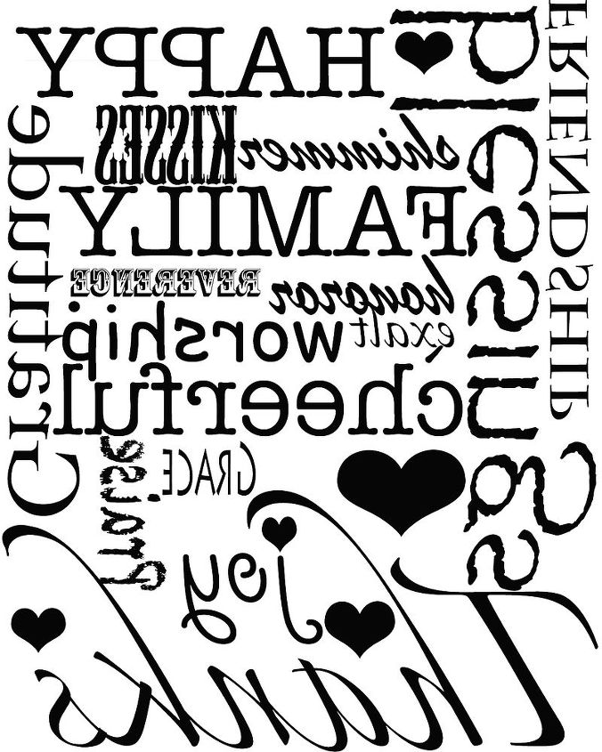 printables transfers for walls or canvas even a t shirt, crafts