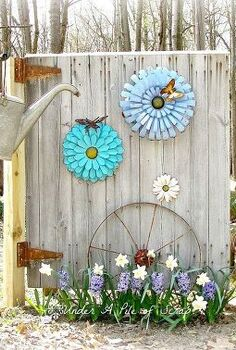 beginnings of my little garden shed, Barn door made into garden art