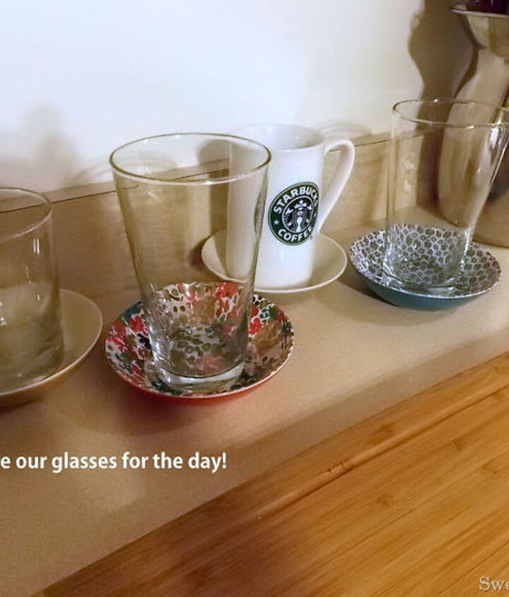 glass for the day, cleaning tips