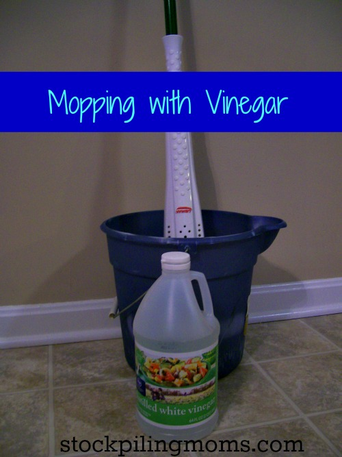 Mopping With Vinegar