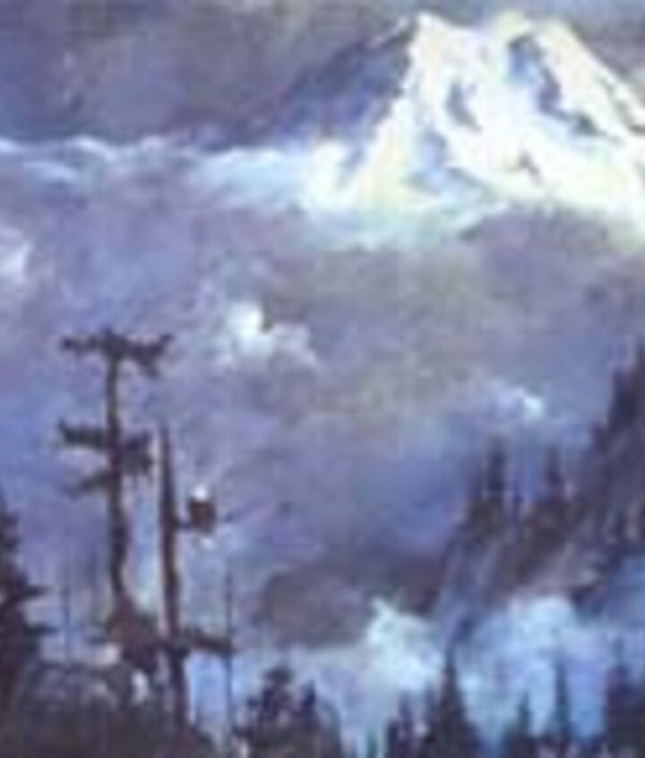 This was a view of Mt Rainier I had from a bedroom window. Oh how I miss her.