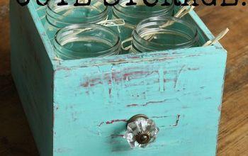 Upcycle Old Drawers to Use as Cute Storage, Drink or SIlverware Caddie