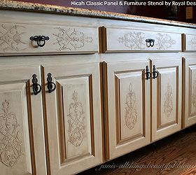 Fab Diy Furniture Stenciling Ideas With Royal Design Studio Stencils,  Painted Furniture, Try Stencil