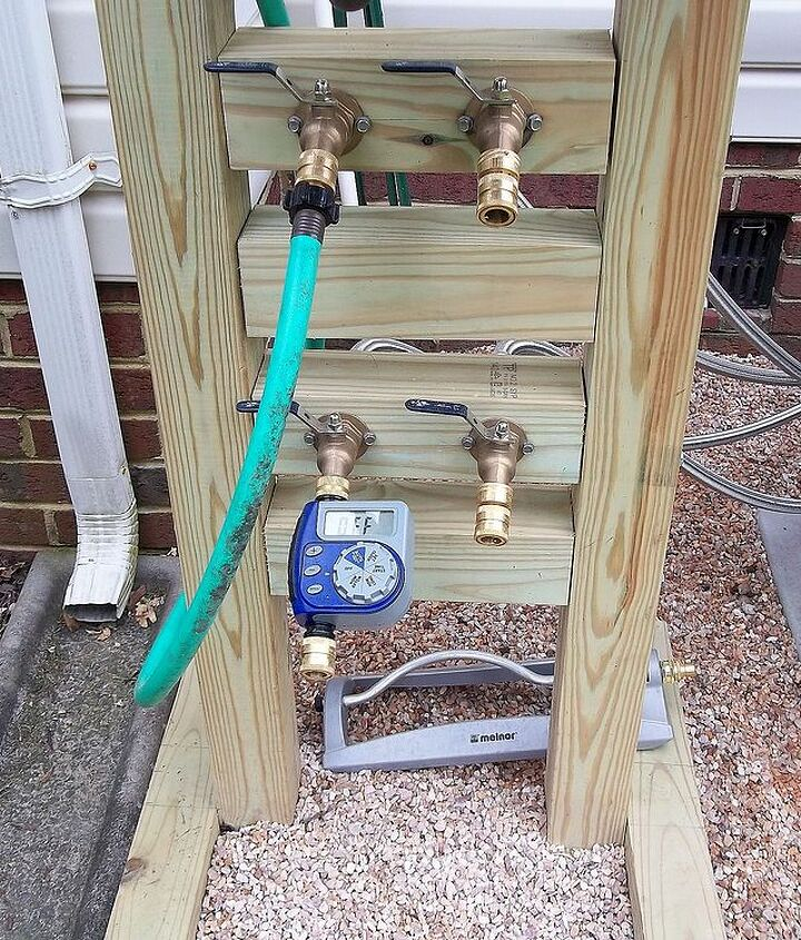 hose reel solution for yard and garden outdoor faucet extension remote, curb appeal, diy