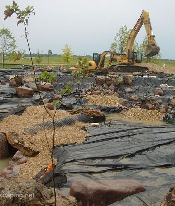 Pond Construction/Installation, Rochester NY