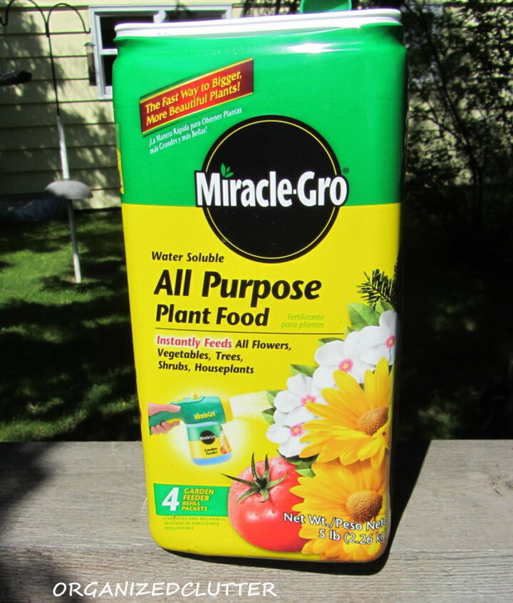 3. Garden Beds:  Water down your flower beds before fertilizer (better yet fertilize after a rain)