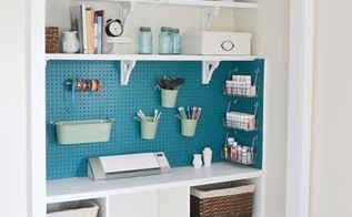 craft closet makeover, cleaning tips, closet, craft rooms, home office, After