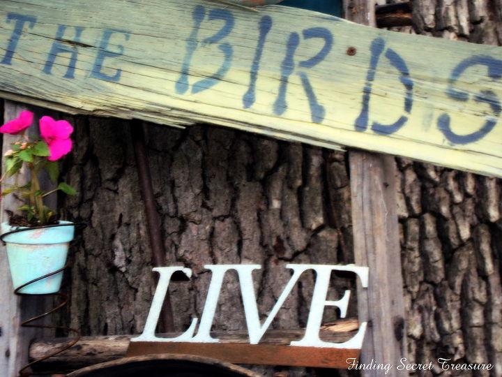 for the birds, gardening